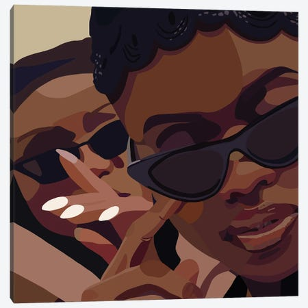 Shaded Canvas Print #HSM9} by Artpce Canvas Art