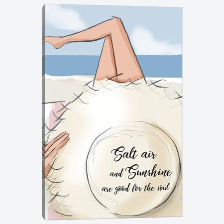 Salt Air And Sunshine II Canvas Print #HST114} by Heather Stillufsen Canvas Print