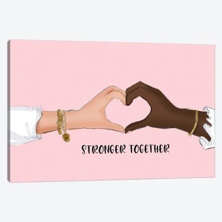 Stronger Together Canvas Print #HST128} by Heather Stillufsen Canvas Print