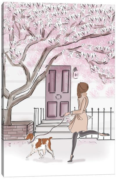 Weekend In Notting Hill Canvas Art Print
