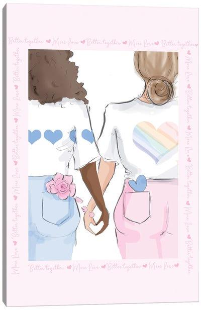 Better Together Canvas Art Print