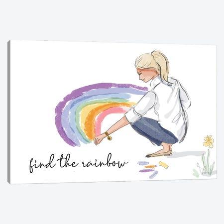 Find The Rainbow Canvas Print #HST50} by Heather Stillufsen Canvas Art