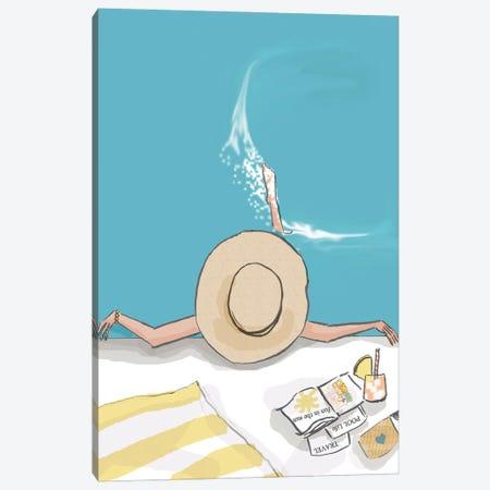 Fun In The Sun Canvas Print #HST57} by Heather Stillufsen Canvas Art Print