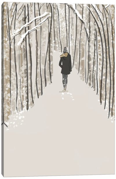 A Walk In The Woods Is....Notext Canvas Art Print