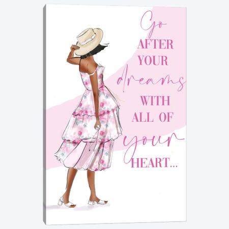 Go After Your Dreams Canvas Print #HST61} by Heather Stillufsen Canvas Print