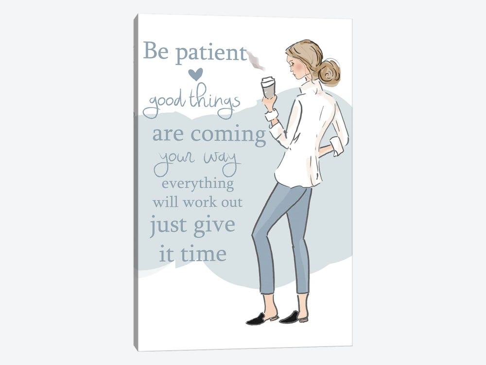 Good Things Are Coming by Heather Stillufsen 1-piece Canvas Art