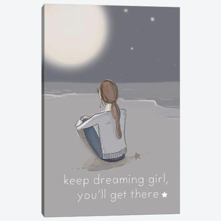 Keep Dreaming Canvas Print #HST73} by Heather Stillufsen Canvas Artwork