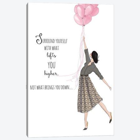 Lift You Higher Canvas Print #HST82} by Heather Stillufsen Art Print