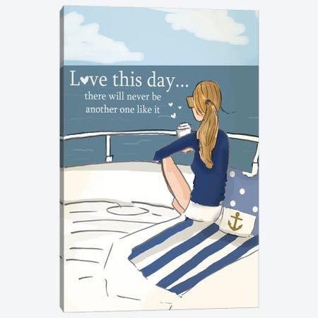 Love This Day Canvas Print #HST87} by Heather Stillufsen Canvas Art