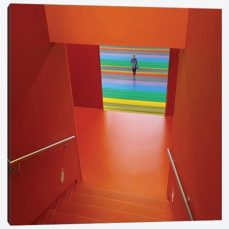 Life Can Be Sa&Sup3; Colourful! Canvas Print #HUI3} by Huib Limberg Canvas Artwork