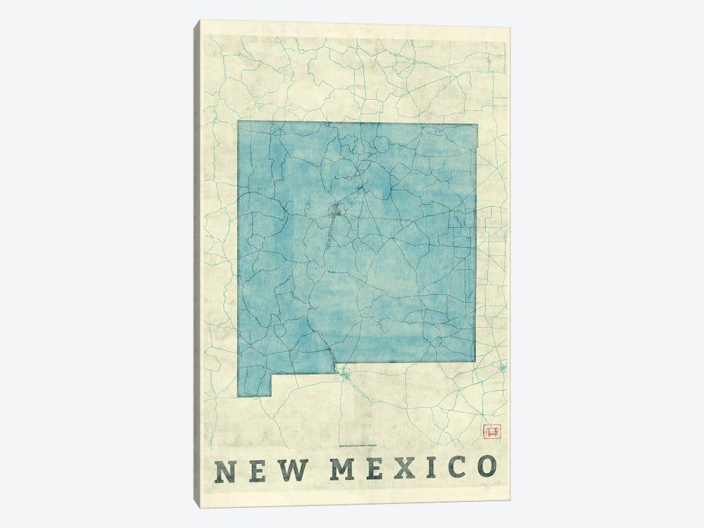 New Mexico Map by Hubert Roguski 1-piece Canvas Art Print