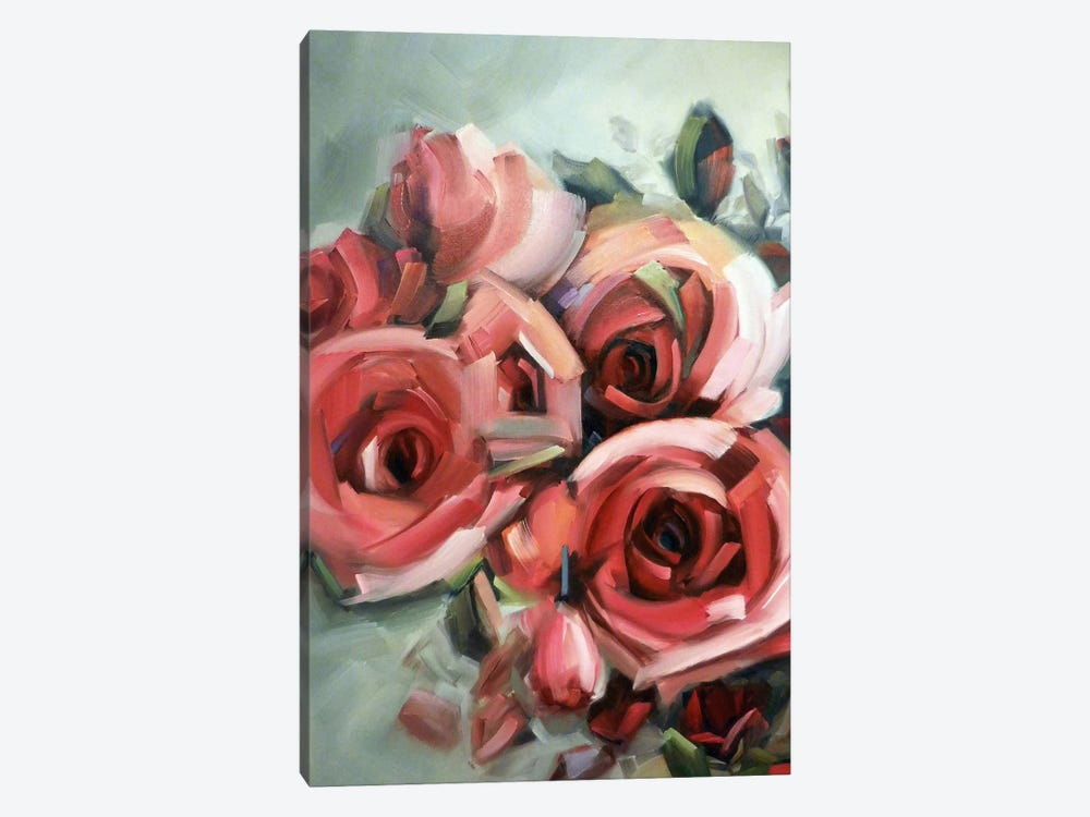Amid The Scent Of Roses by Holly Van Hart 1-piece Canvas Art