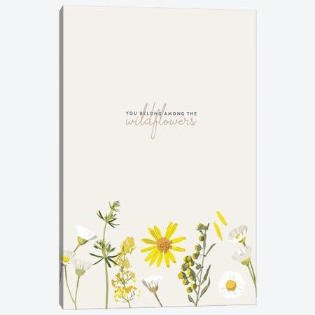You Belong Among The Wildflowers - Tom Petty Canvas Print #HVW39} by Holly Van Wyck Art Print