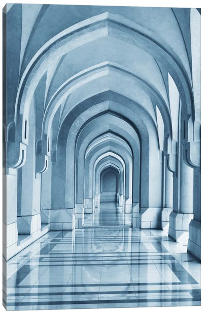 Portico Canvas Art Print