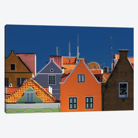 Willemstad Canvas Print #HWH12} by Hans-Wolfgang Hawerkamp Art Print