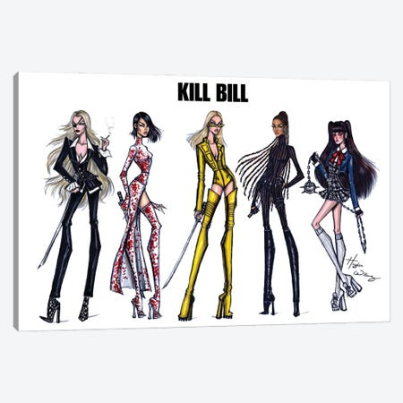 Kill Bill Canvas Print #HWI105} by Hayden Williams Canvas Wall Art