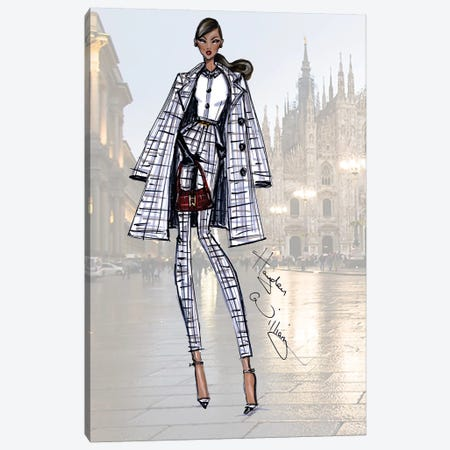 Milan Moda Canvas Print #HWI10} by Hayden Williams Canvas Wall Art