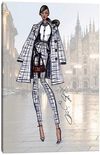 Milan Moda Canvas Art Print