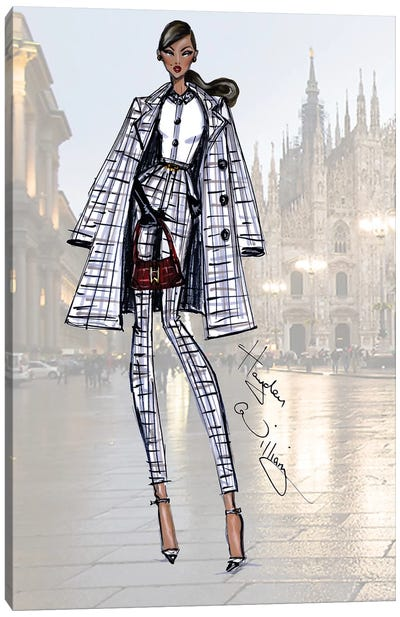 Milan Moda Canvas Art Print
