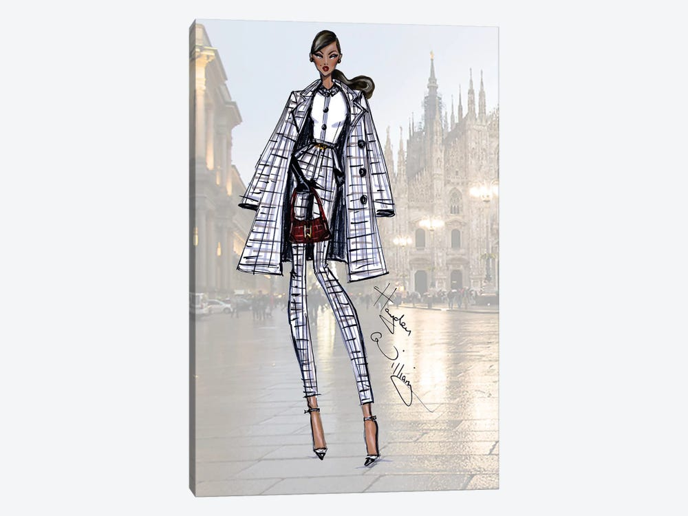 Milan Moda by Hayden Williams 1-piece Canvas Print