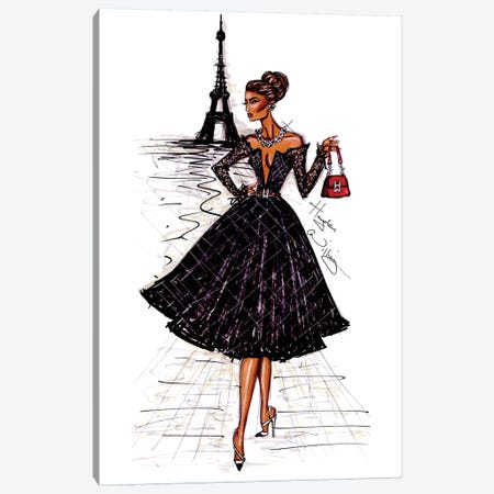 Ooh La La Paris Canvas Print #HWI11} by Hayden Williams Canvas Wall Art