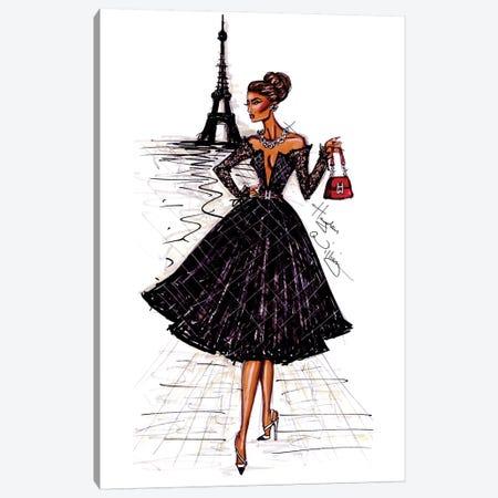 Ooh La La Paris Canvas Print #HWI11} by Hayden Williams Canvas Wall Art