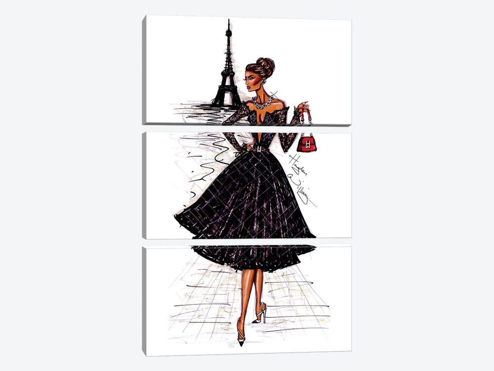 Ooh La La Paris by Hayden Williams 3-piece Canvas Wall Art
