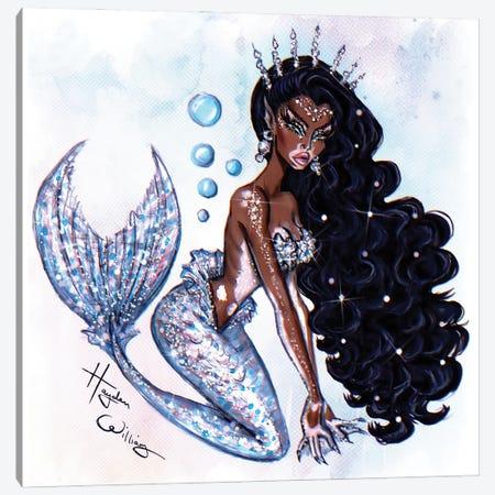Sea Siren II Canvas Print #HWI121} by Hayden Williams Canvas Print