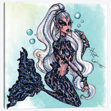 Sea Siren IV Canvas Print #HWI123} by Hayden Williams Canvas Print