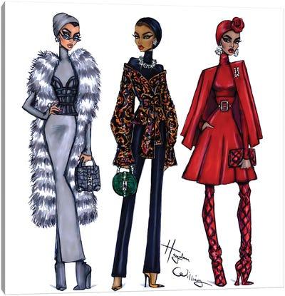 Modest Fashion Canvas Art Print