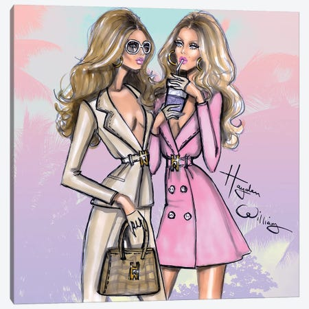 Power Of Two Canvas Print #HWI12} by Hayden Williams Canvas Art