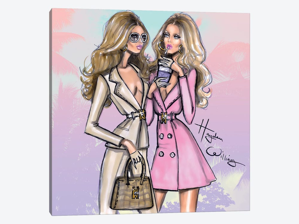 Power Of Two by Hayden Williams 1-piece Canvas Print