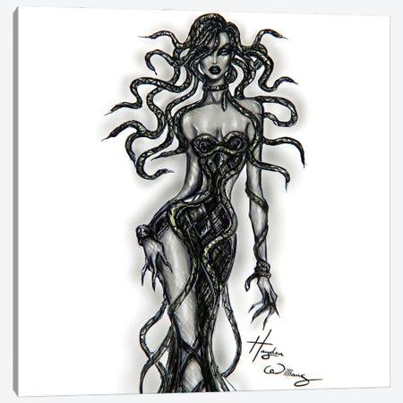 Medusa Canvas Print #HWI130} by Hayden Williams Canvas Artwork