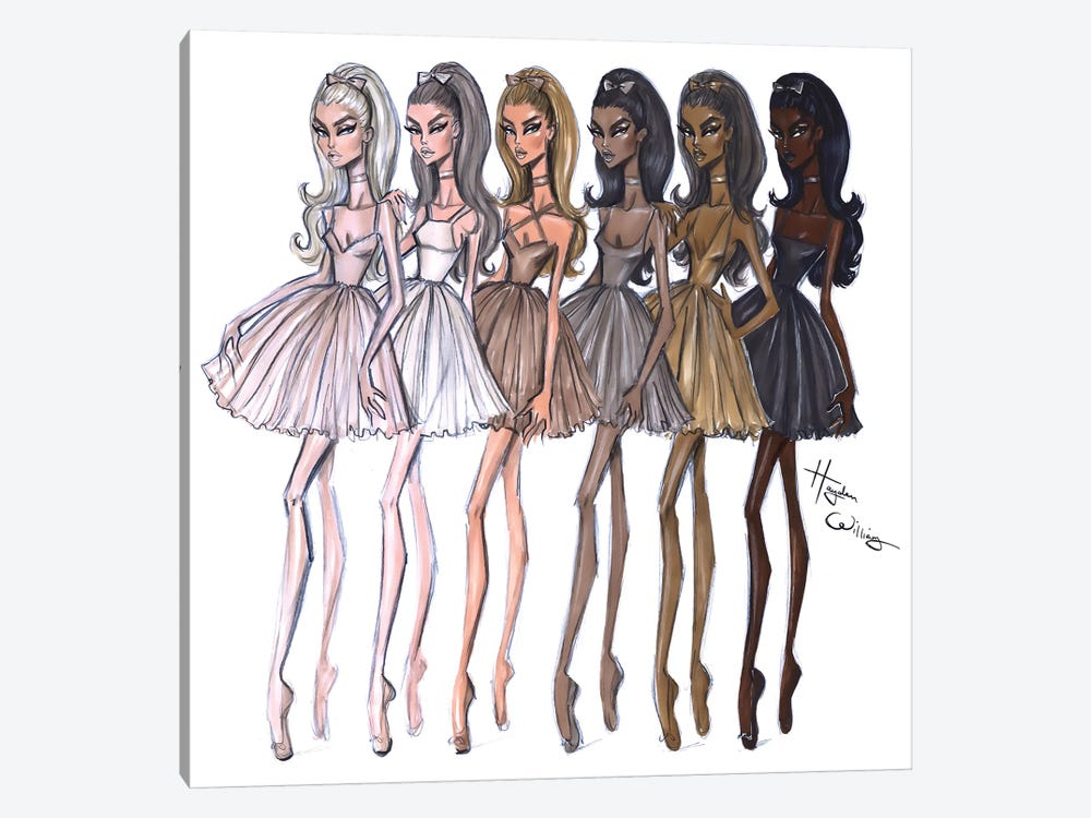 Shades Of Beauty by Hayden Williams 1-piece Art Print