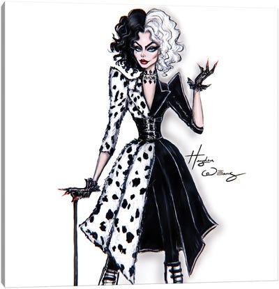 Cruella 2021 Canvas Art Print