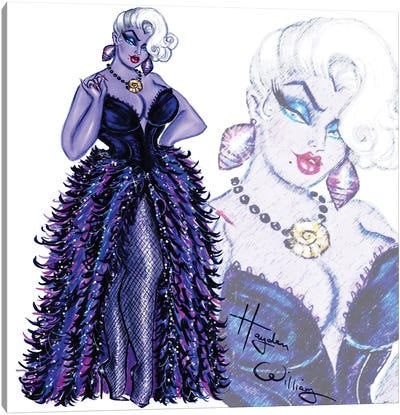 Villainess 2018: Ursula Canvas Art Print