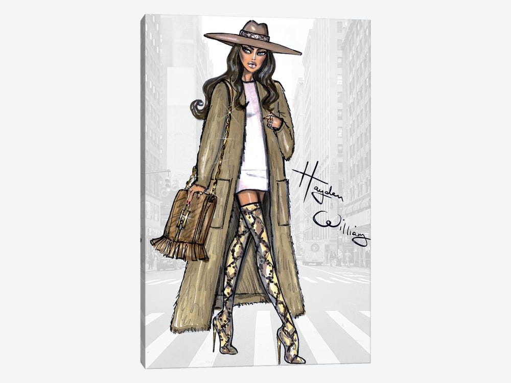 Sleek In Sandstone by Hayden Williams 1-piece Canvas Art Print