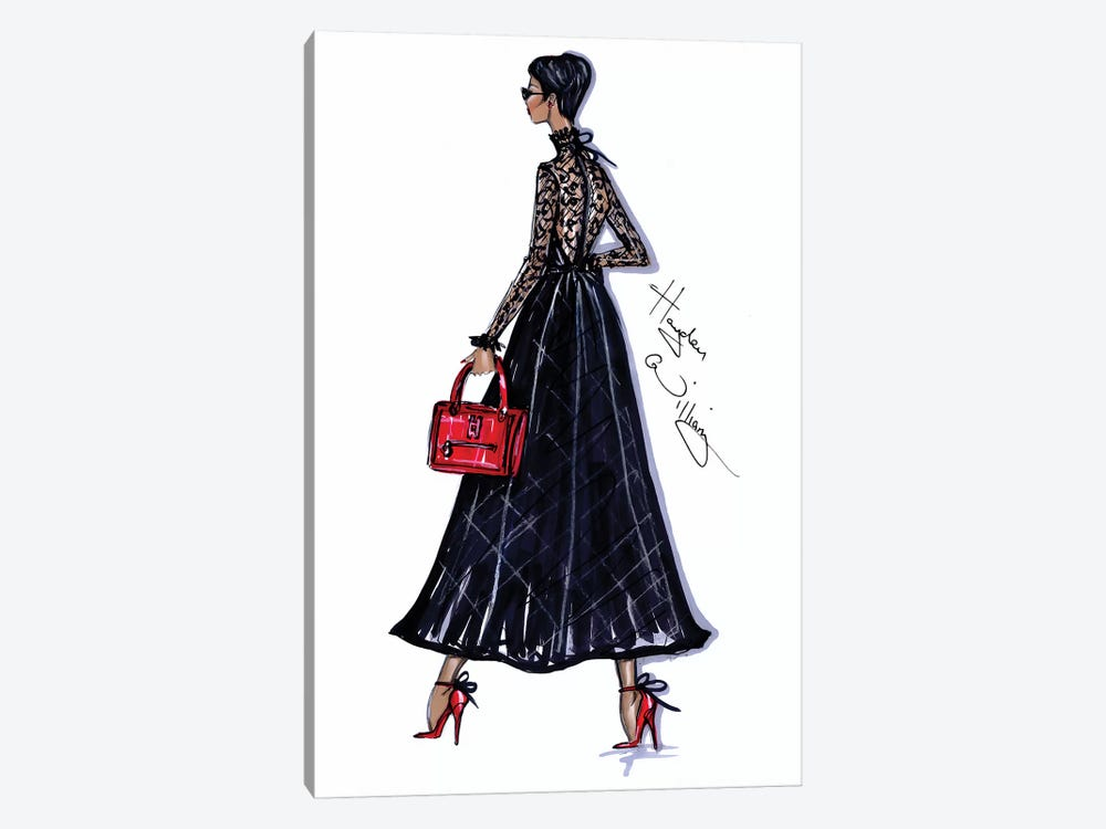 Trace Of Lace by Hayden Williams 1-piece Canvas Wall Art