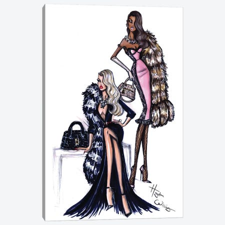 Two Can Play Canvas Print #HWI20} by Hayden Williams Canvas Print