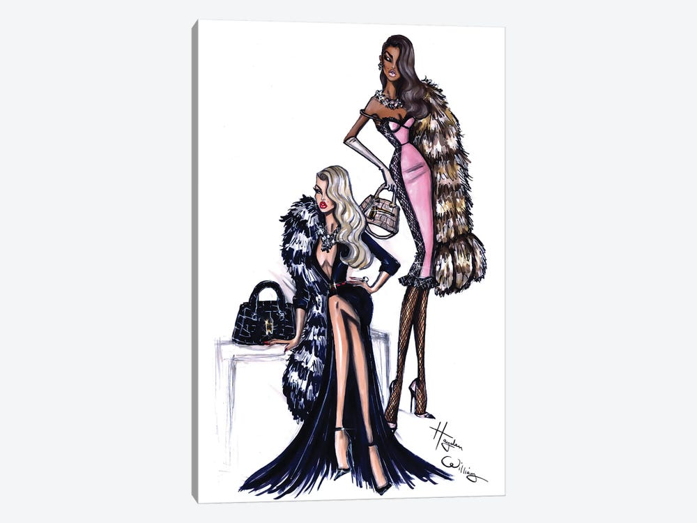 Two Can Play by Hayden Williams 1-piece Canvas Art