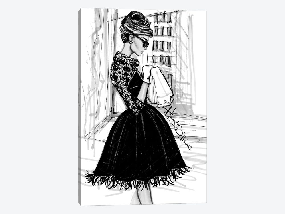 Breakfast at Tiffany's 1-piece Canvas Art Print