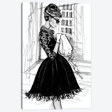 Breakfast at Tiffany's Canvas Print #HWI21} by Hayden Williams Canvas Art Print