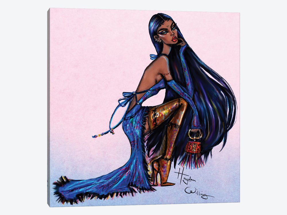 Colours of the Wind by Hayden Williams 1-piece Canvas Print
