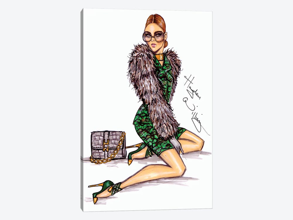 Envied by Hayden Williams 1-piece Canvas Artwork