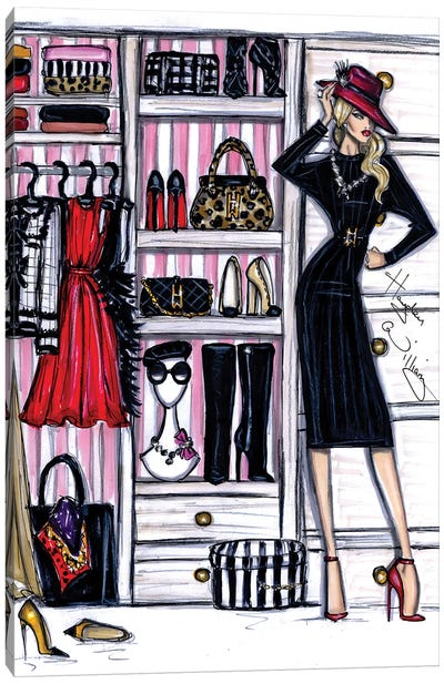 Fashion Closet I Canvas Art Print