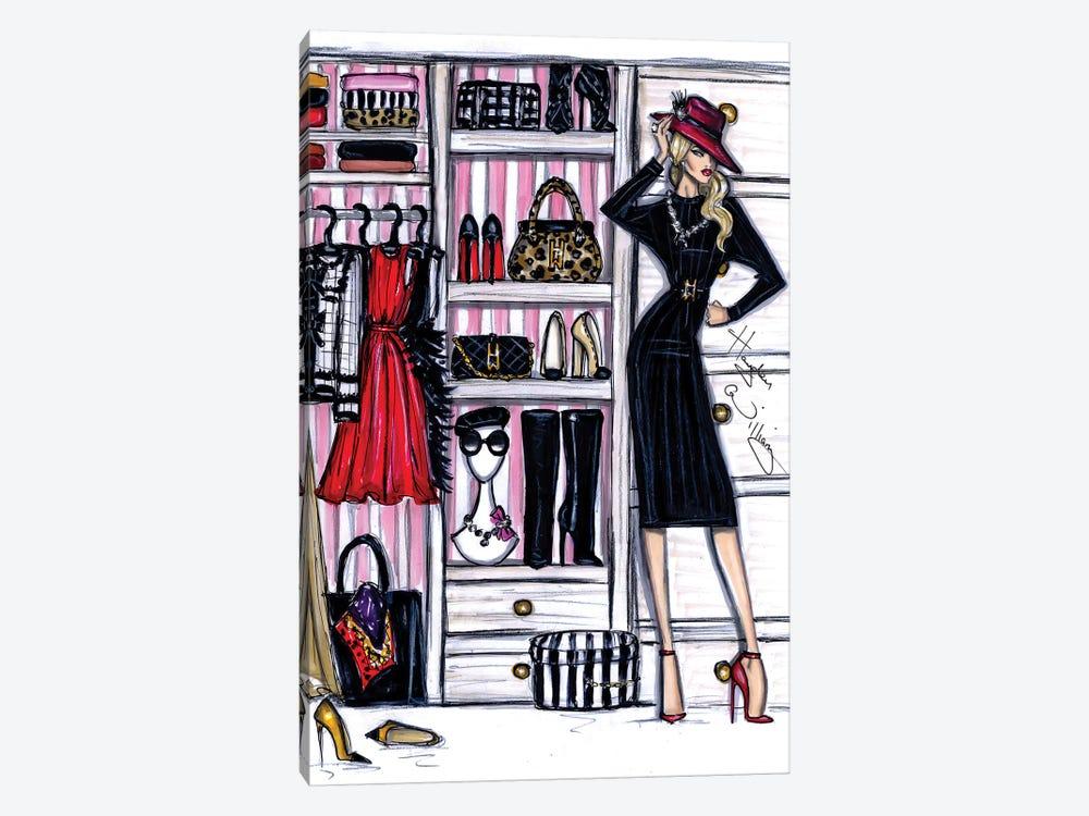 Fashion Closet I by Hayden Williams 1-piece Canvas Artwork