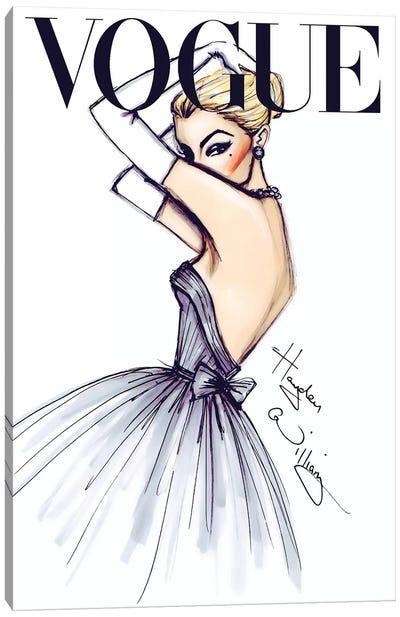 J'adore Vogue Canvas Art Print