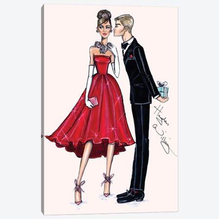 Red Romance Canvas Print #HWI39} by Hayden Williams Canvas Artwork