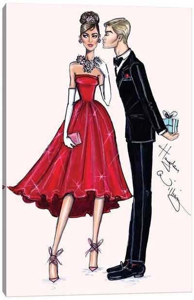 Red Romance Canvas Art Print