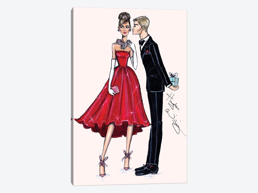 Red Romance by Hayden Williams 1-piece Canvas Art